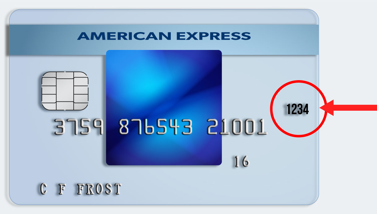Front of Amex Card