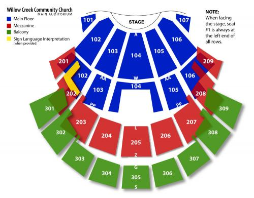 Willow Creek Christmas 2015 Tickets Sun Dec 20 2015 At