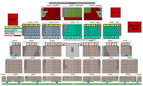 Event Info View Seats