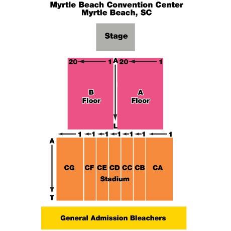 Myrtle Beach Sc Convention Center Events