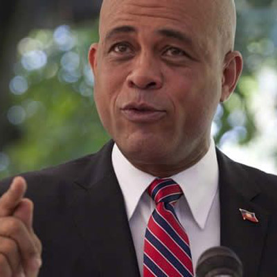 Michel Martelly, President of Haiti