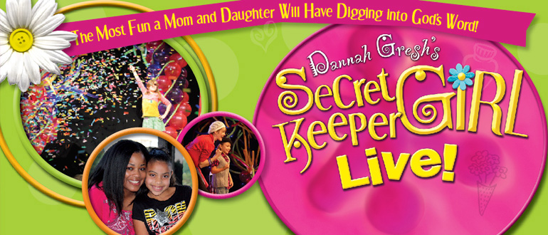 Secret Keeper Girl Pajama Party  concert