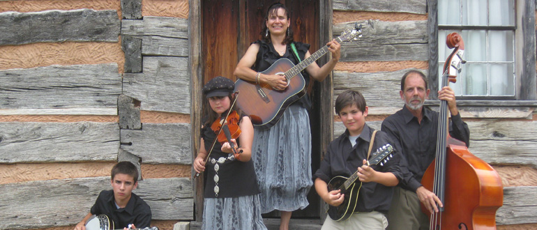 The Lemonds Family Bluegrass and Gospel Band concert