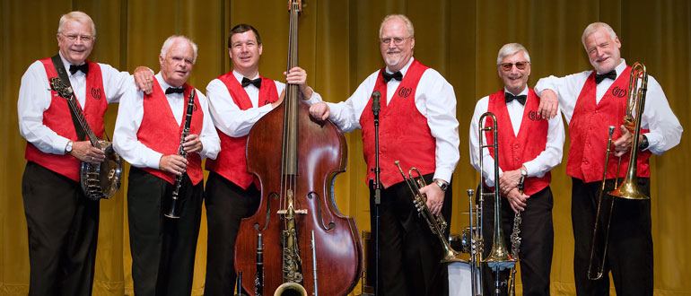Barbary Coast Dixieland Band concert