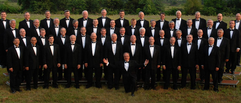 Singing Men of Arkansas concert