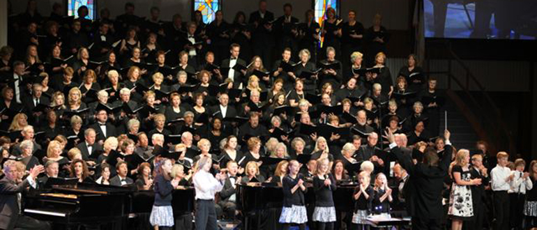 Rocky Mountain Praise Choir and Orchestra concert
