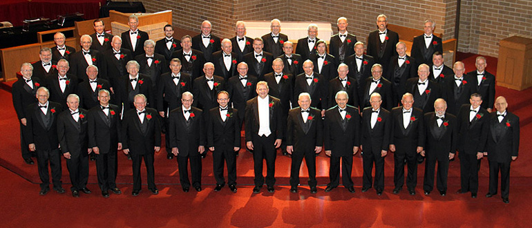 Langsford Men's Chorus concert