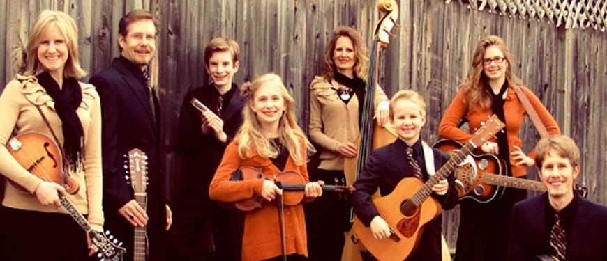 Garms Family Bluegrass concert