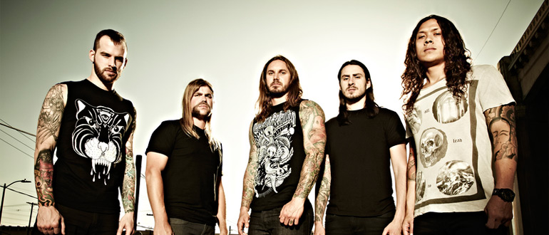 As I Lay Dying concert