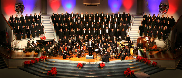 First Baptist Church Grapevine Choir concert