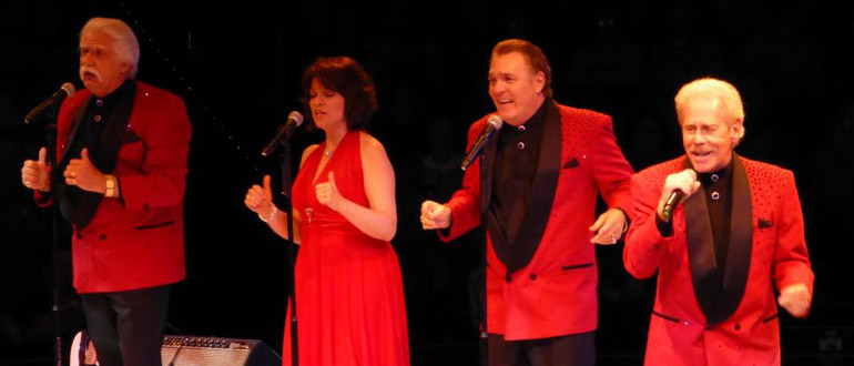 Jimmy Beaumont & the Skyliners concert
