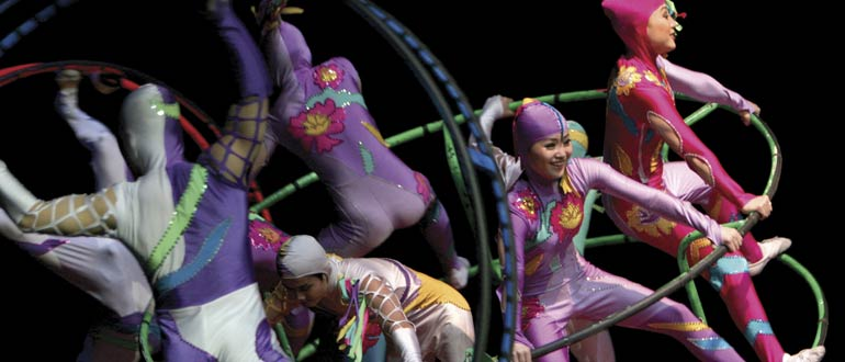 Golden Dragon Acrobats concert