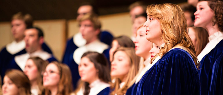 Nordic Choir of Luther College concert