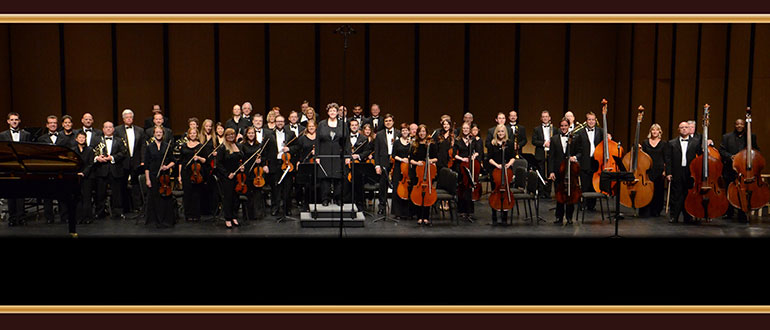 The New Texas Symphony Orchestra concert