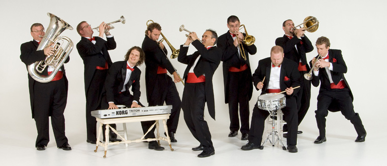 Tim Zimmerman & The King's Brass concert
