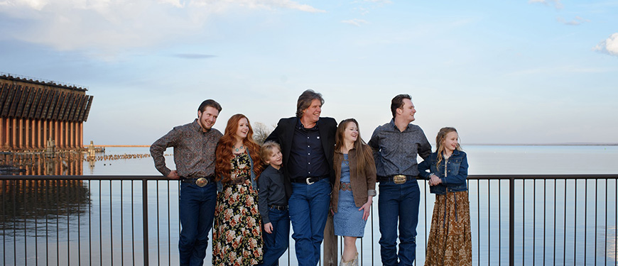 The Paul Family Bluegrass Band