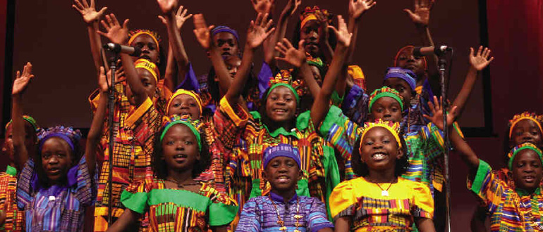 Watoto Children's Choir concert