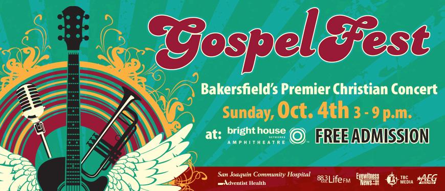 San Joaquin Community Hospital S Annual Gospelfest Tickets Sun Oct