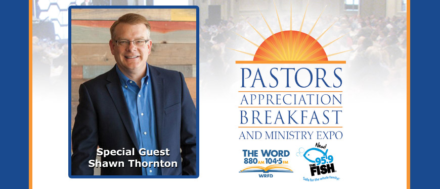 Pastors appreciation breakfast and church ministry expo for The fish 95 9