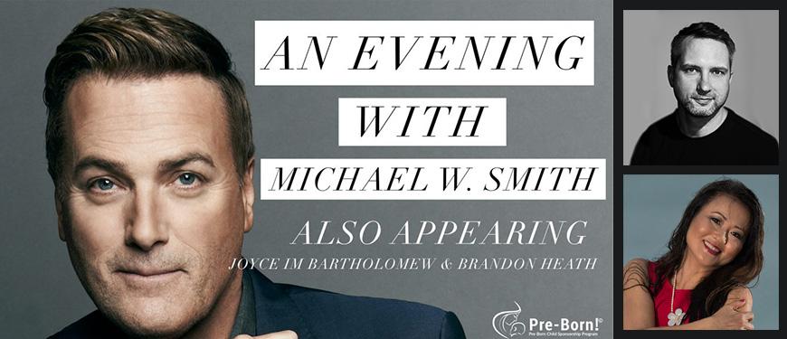 Michael W. Smith/Brandon Heath Concert to Benefit WPCC-Obria clinics!