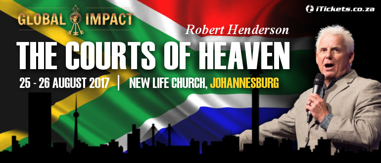 Tickets | The Courts of Heaven with Robert Henderson in