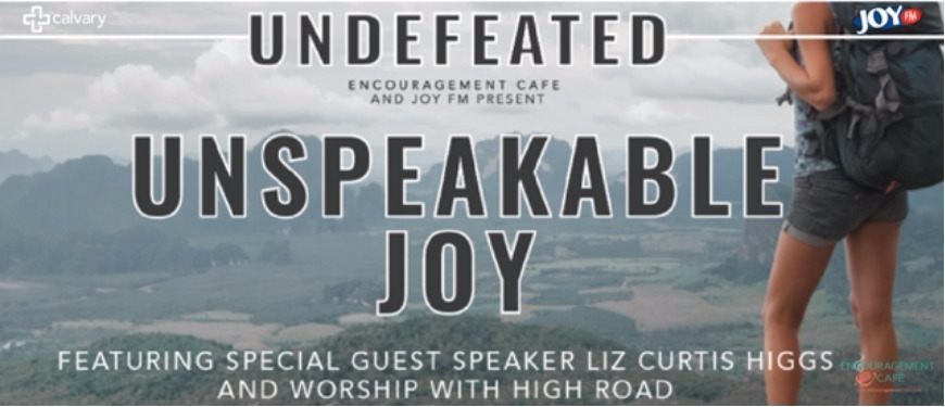 Image result for unspeakable joy encouragement cafe