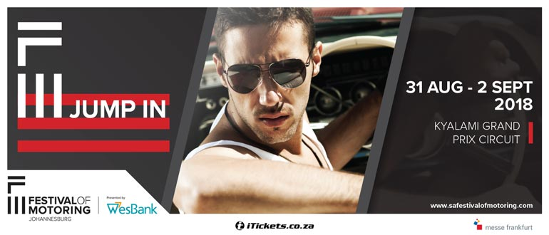 Tickets | Festival of Motoring in Kyalami, Midrand, ZA | iTickets