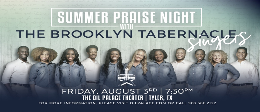 a summer evening of praise worship with brooklyn tabernacle singers - Brooklyn Tabernacle Christmas Show