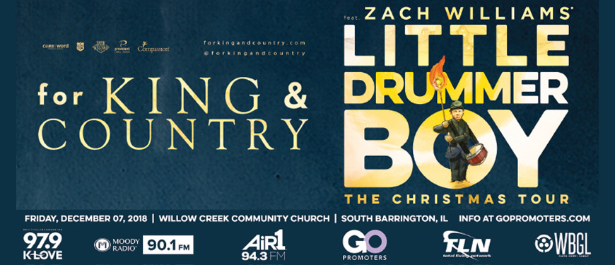 for king country christmas tour with