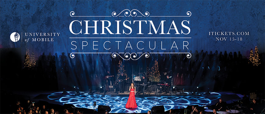 Christmas Spectacular.Tickets University Of Mobile Christmas Spectacular In