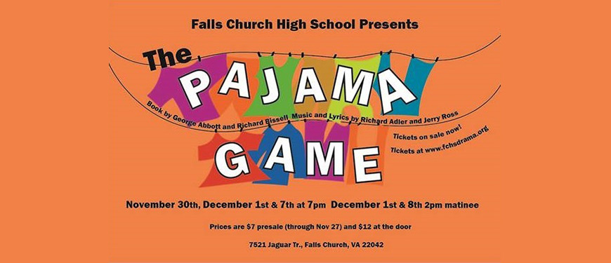 Tickets | The Pajama Game in Falls Church, VA | iTickets
