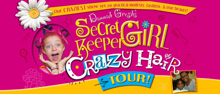 Secret Keeper Girl Live! Crazy Hair Tour