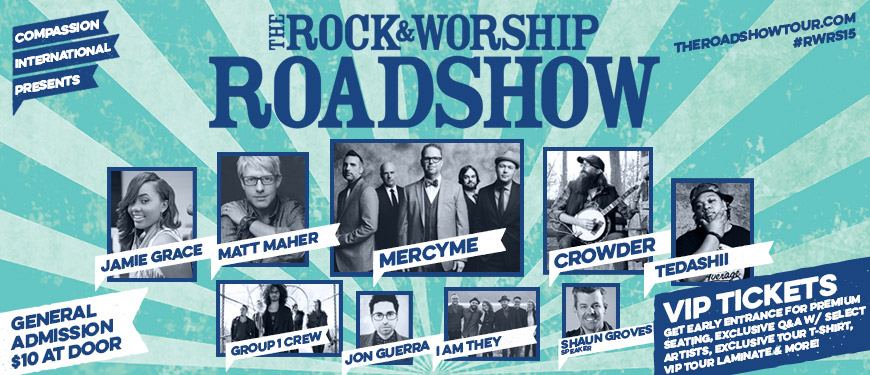 The rock worship roadshow tickets fri mar 6 2015 at 7 for 3719 terrace street pittsburgh pa 15261