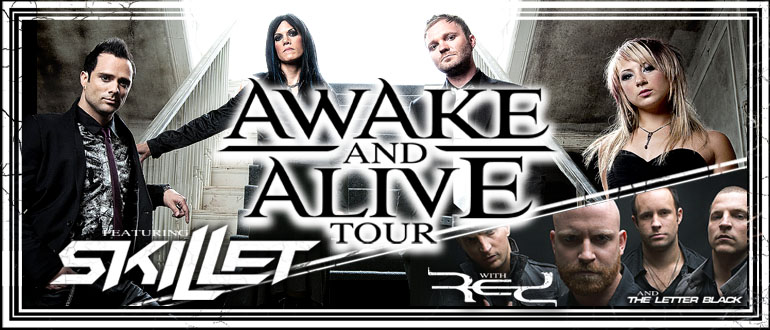 awake and alive skillet